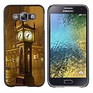 """For Samsung Galaxy E5 E500 , S-type Arquitectura Big Ben lluvia"""" - Arte & diseño plástico duro Fundas Cover Cubre Hard Case Cover"""