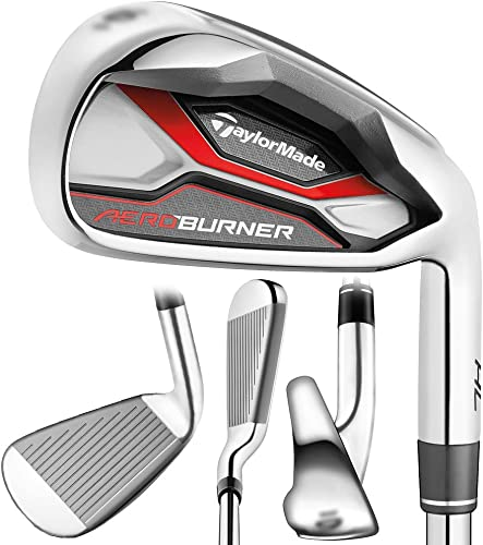 TaylorMade Golf- AEROBURNER HL Irons Graphite Senior Flex 4-PW AW – Right Hand