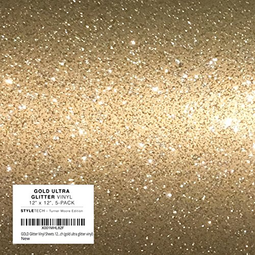 (ULTRA Gold Glitter Vinyl, 12
