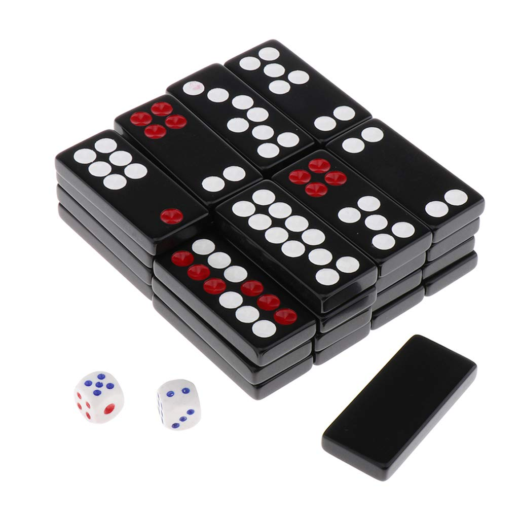 Chiwanji 32pcs Chinese Antique Pai Gow Paigow Tiles With 2 Pieces Dices In Plastic Box For Party Casinos Player Black A Buy Online In Dominica At Dominica Desertcart Com Productid 177457743