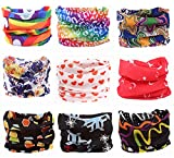 Sports Outdoors Best Deals - Pack of 9PCS, Outdoor Multifunctional Sports Magic Scarf, Magic Bandanas Tube, Seamless Scarf, Collars Muffler Scarf Face Mask, High Elastic Magic Headband with Uv Resistance, Headscarves, Headbands (Dream)