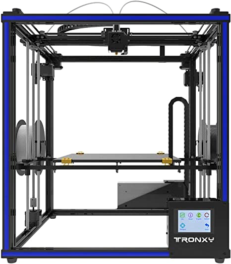 TRONXY X5ST-2E Impresora 3D Extrusión 2 entradas/Salidas, filamento Sensor Resume Cube Full Metal Square con Gran Formato de impresión 330 x 330 x 400: Amazon.es: Informática