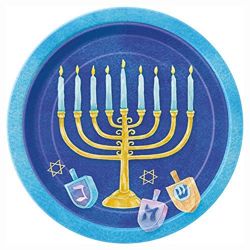 Costume Halloween Dreidel (Celebrate Hanukkah Dessert Plates,)