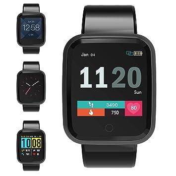 FOSUN N1 Reloj Inteligente, Fitness Tracker Smart Watch IP68 Rastreador de Actividad a Prueba de