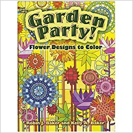 flower designs to color dover nature coloring book kelly a baker 0499991631636 amazoncom books - Nature Coloring Book