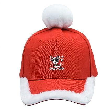 Amazon.com  Andersonding1 French Bulldog Santa Claus Baseball Cap ... 6591e84695e
