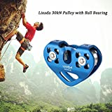 Lixada Zip Line Pulley Tandem Speed Dual Trolley