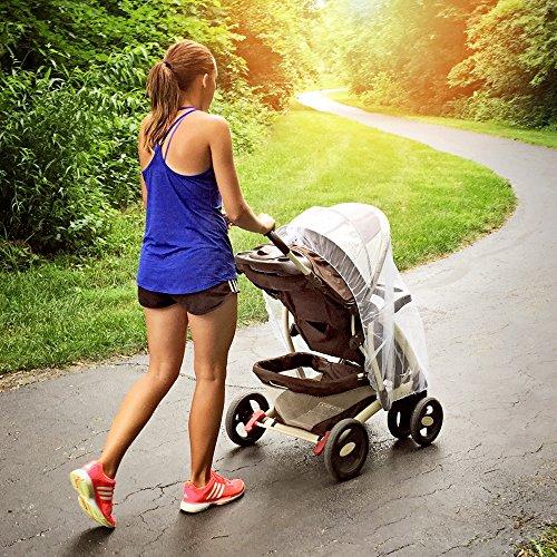 Babies In Running Strollers - 3