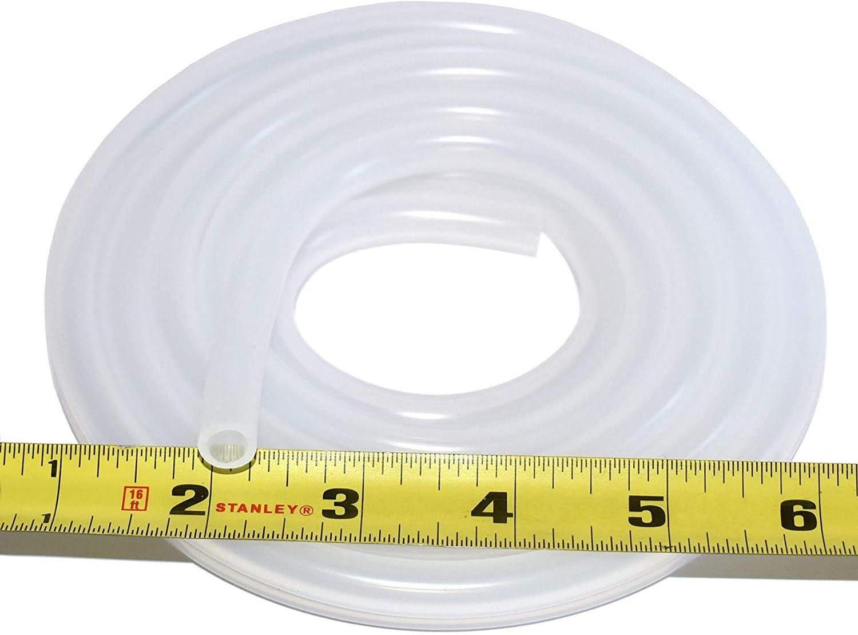 Pure Silicone Tubing - 1/4