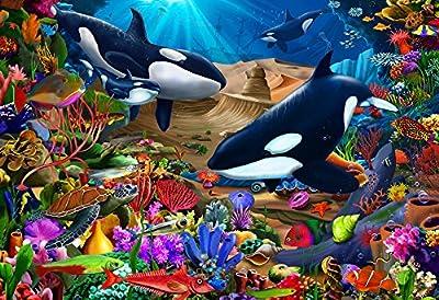 Wondrous Ocean Kid's Jigsaw Puzzle 100 Piece