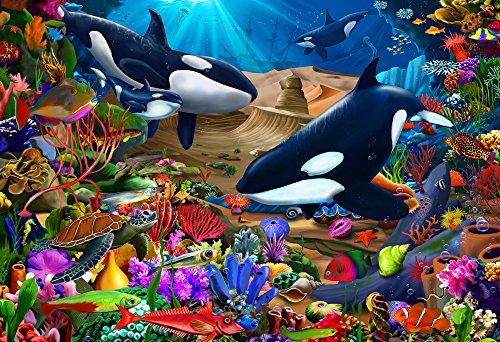 Vermont Christmas Company Wondrous Ocean Kid's Jigsaw Puzzle