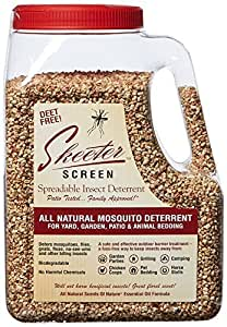 Skeeter Screen 90800 Spreadable Insect Deterrent, 4-pound 1