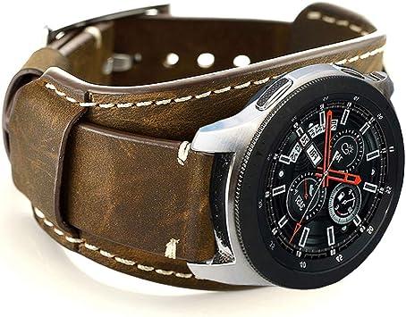 bracelet cuir galaxy watch 42mm