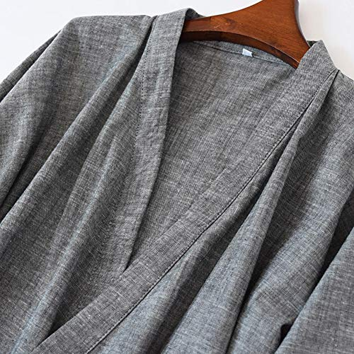 Giapponese Degli Il Veste 05 Accappatoio Lo Fancy Uomini Puro Stile Pigiama Pumpkin Cotone Kimono qwIx4nt6U
