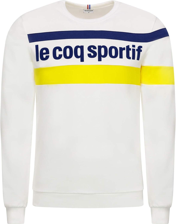 Le Coq Sportif ESS Saison Crew Sweat N°1 M N.o.w/Blue D Sudadera ...