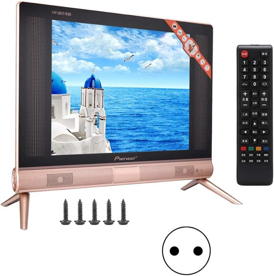 Wosume TV Mini TV ultradelgada Televisor LCD HD Resolución de 17 ...