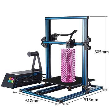 Z.L.FFLZ Impresora 3D Impresora A5X 3D Kit de impresión Tamaño ...