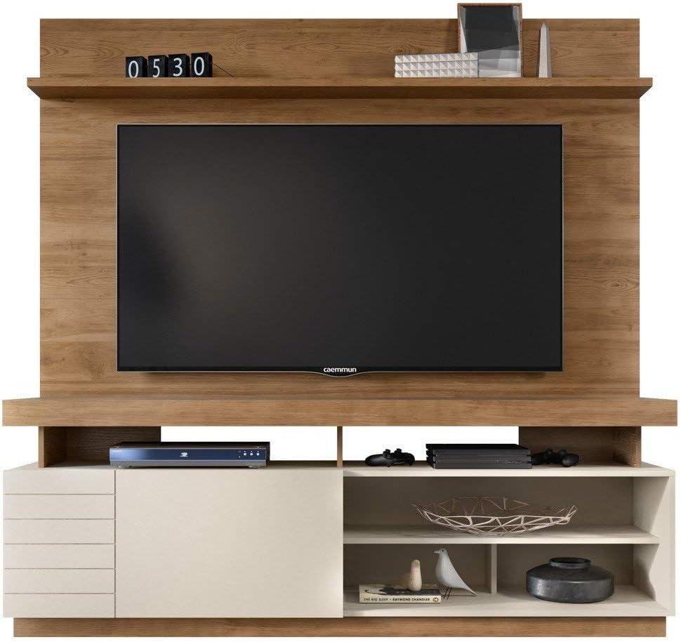 Caemmum - Mueble de pared para televisor (65 pulgadas, madera de ...