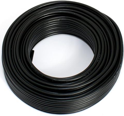 Lautsprecherkabel 2x1 50mm2 10m Schwarz Cca Elektronik
