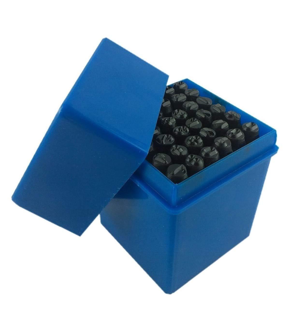 Trade Oxford –  Punzones numeratori letras + nú meros + sí mbolos & 36 piezas de 8 mm
