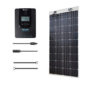 160W  RENOGY フレキシブル 充電コントローラ(MPPT)付 ソーラーパネル