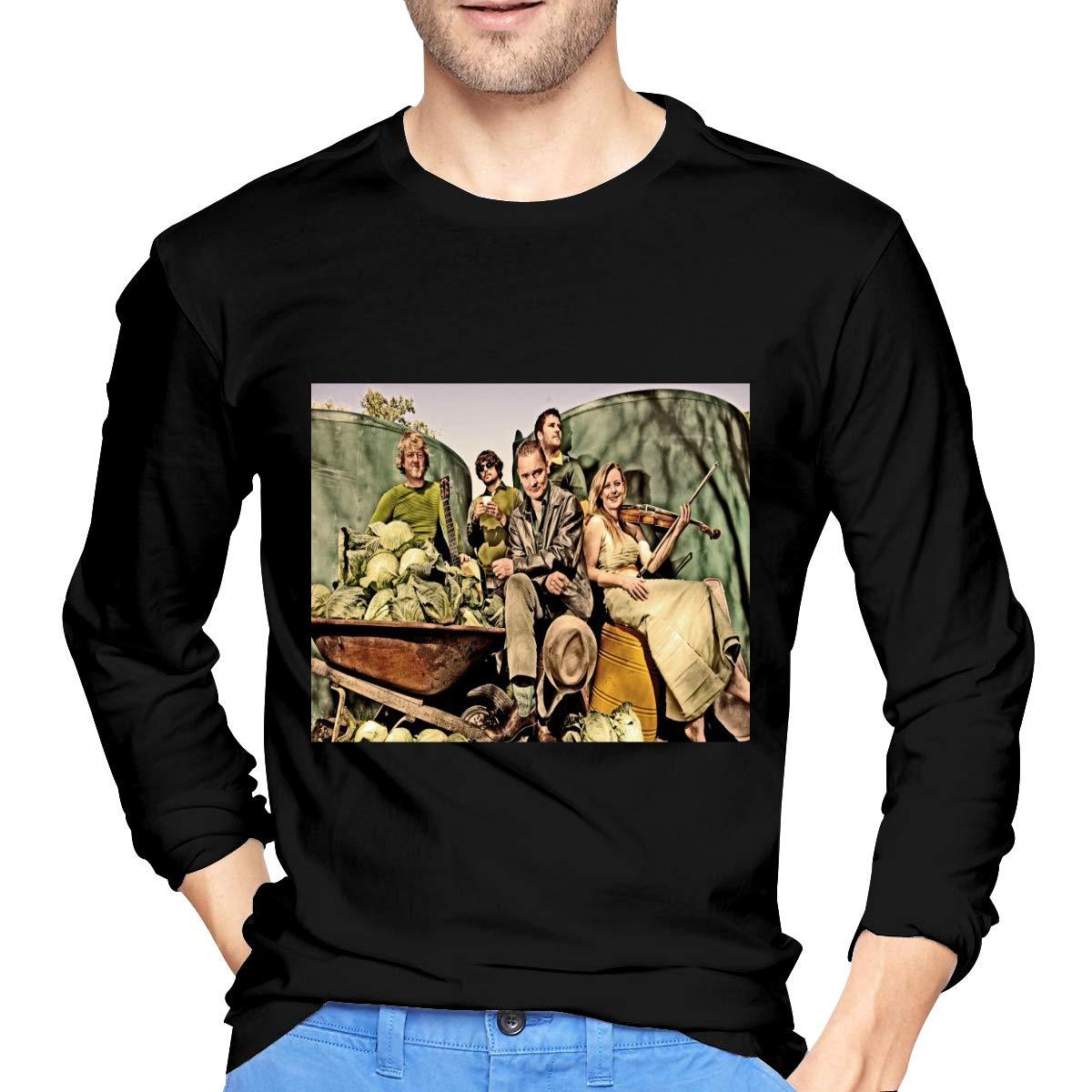 Lihehen Man Gaelic Storm Round Neck T Shirts