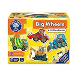 Orchard My First Puzzle, 4 Large-Piece Puzzles, Big Wheels