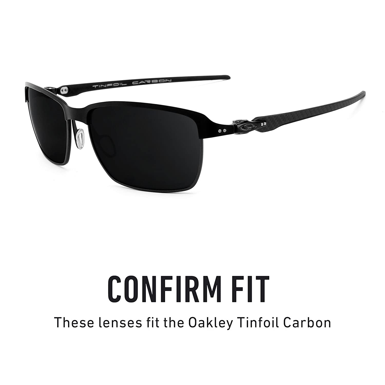 053a4054421 Amazon.com  Revant Polarized Replacement Lenses for Oakley Tinfoil Carbon  Elite Black Chrome MirrorShield  Sports   Outdoors