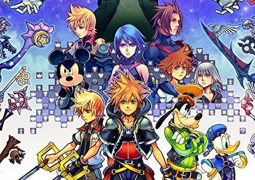 Kingdom Hearts II.5 HD Remix Poster by Kingdom Hearts II.5 HD ...