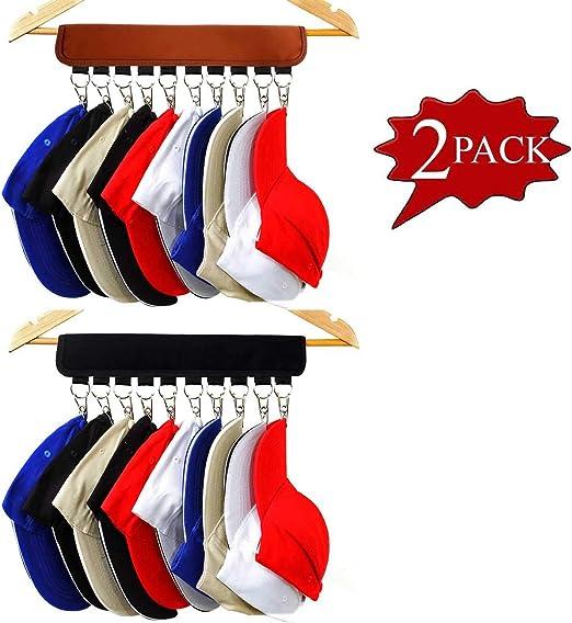 XJunion Gancho organizador para gorras, 10 soportes para gorra de ...