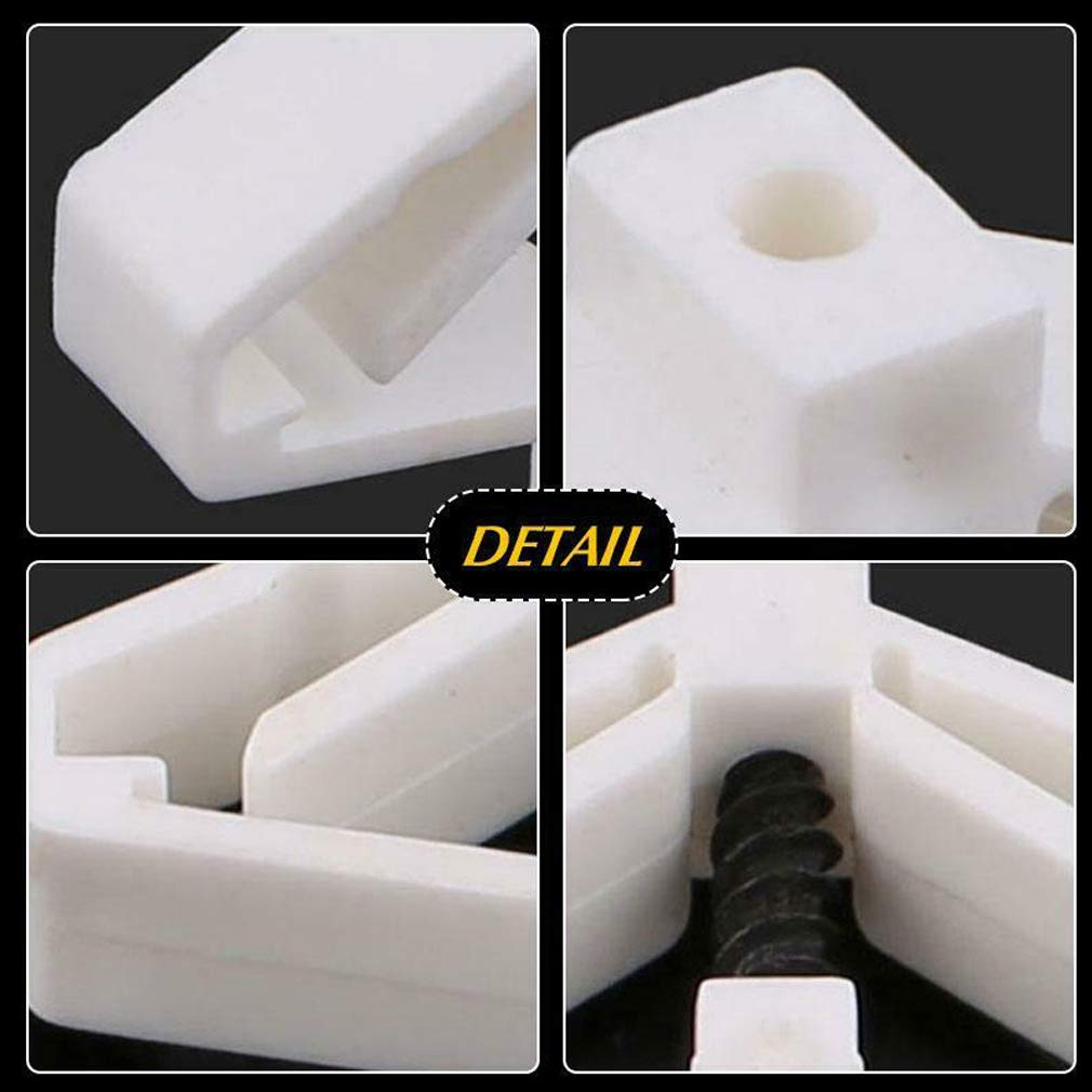 ZOOARTS 10 Piece Set 3.5 x 50 Aircraft Expansion Tube Hollow Wall Curtain Gypsum Board Expansion Screw Anchor Bolt Up