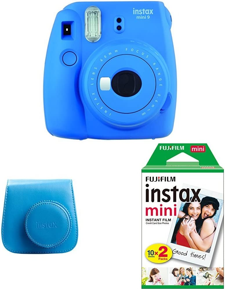 Fujifilm Instax Mini 9 - Kit Cámara instantánea + Funda, color ...