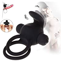 Oscillation Kneading Skin-Friendly High Stretchy Silicone Circle for Men