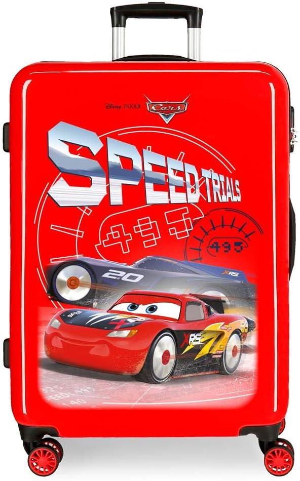 Maleta Mediana Cars Speed Trails rígida 68cm