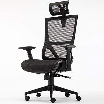 Amazon Com Computer Chair Home Modern Minimalist Office Chair Lift Recliner Ergonomic Chair Zhaofenge Color Black Furniture Decor