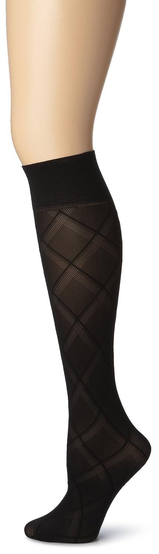 Gold Toe Women's Pattern Trouser 3 Pack Black 9-11 5146-Black-9-11
