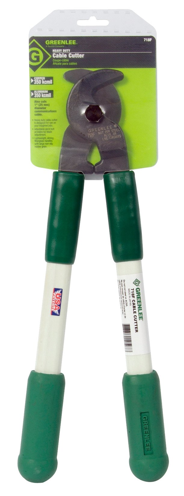 Greenlee 718F Cable Cutter, 17-1/2''