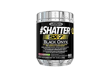 Muscletech Shatter SX-7 Black Onyx - 340 g (Cherry Limeade Twist) Sports Supplements at amazon