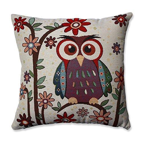 Pillow Perfect Owl Hoot Throw Pillow, 16.5