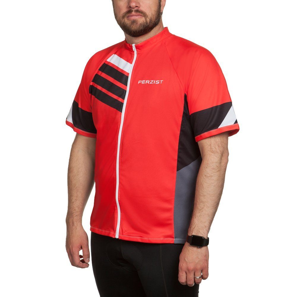 Amazon.com  Tall Men s - Relaxed Fit - Moisture Wicking - Cycling Jersey - Size  LT to 2XLT  Clothing 070c5260d
