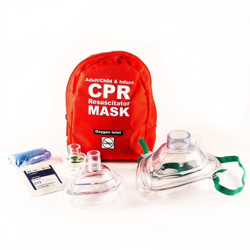 Amazon.com: CPR máscara Combo Kit para adulto/niño y niños ...