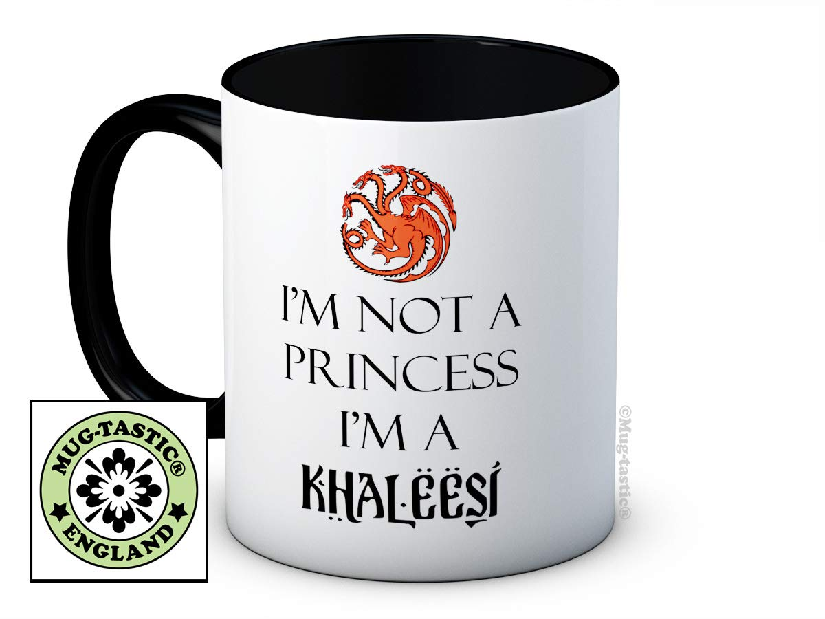 Im Not a Princess Im a Khaleesi - Game of Thrones - Taza de café ...