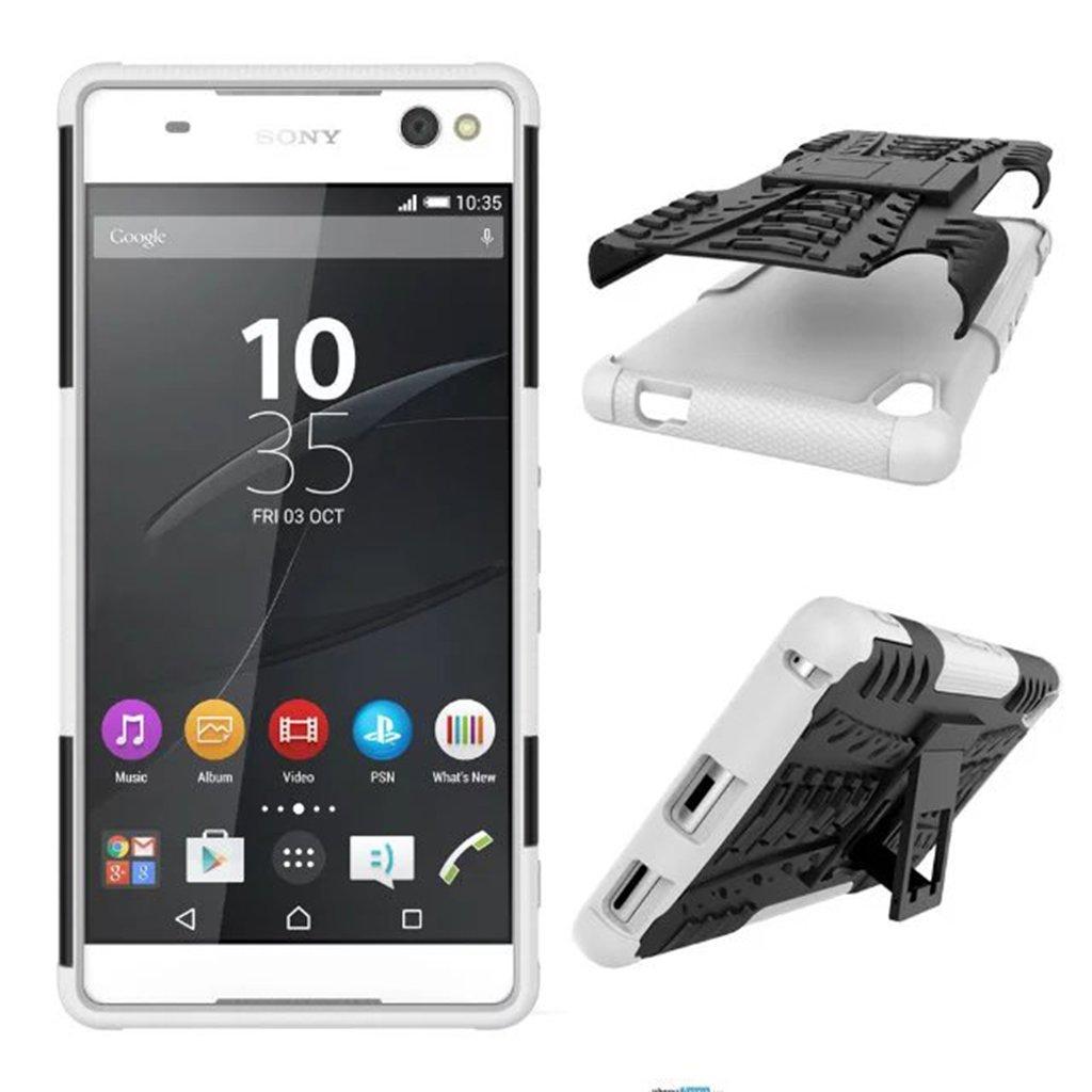 Amazon.com: Sony Xperia XA Ultra Case, Dual Layer Armor ...