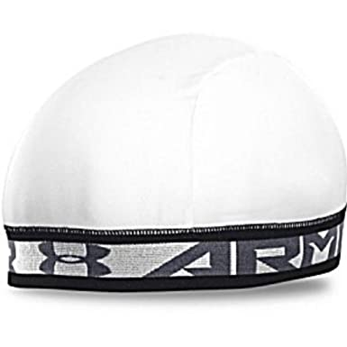 ... closeout under armour ua original sports skull cap white steel grey  workout beanie a0636 e7912 ... c1966f62edd1