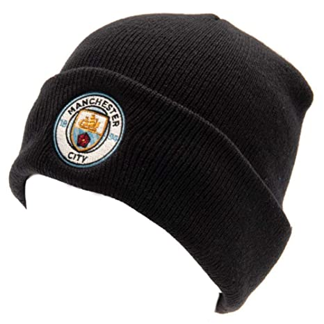 d50ce0a7711 Amazon.com   Manchester City Adult Cuff Knitted Bronx Hat - Navy ...
