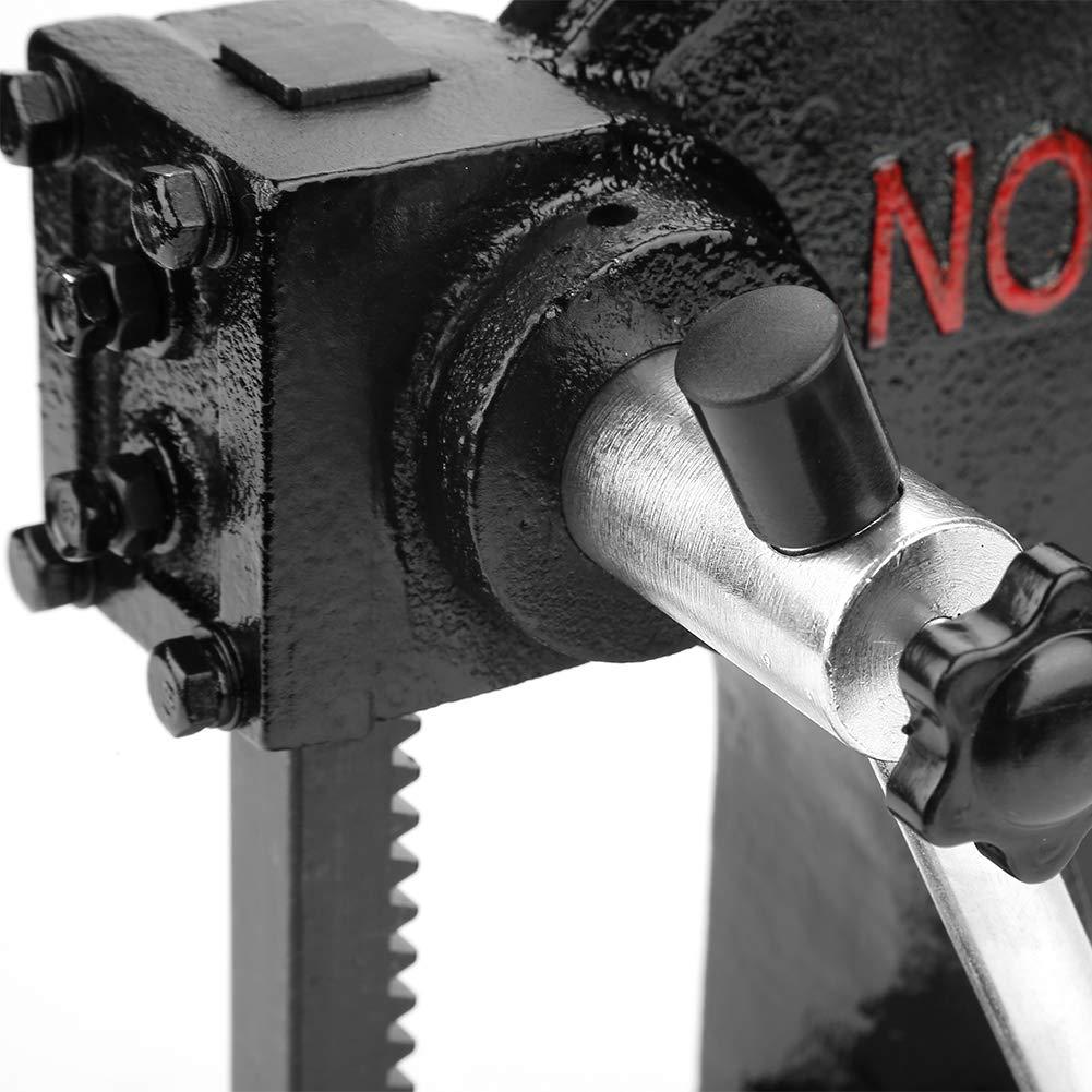 Arbor Press, 0.5T 4.1''/104mm Manual Desktop Hand Punch Press Machine Metal Arbor Press Tool for Press Bearing Brass Riveting by Zerone (Image #6)