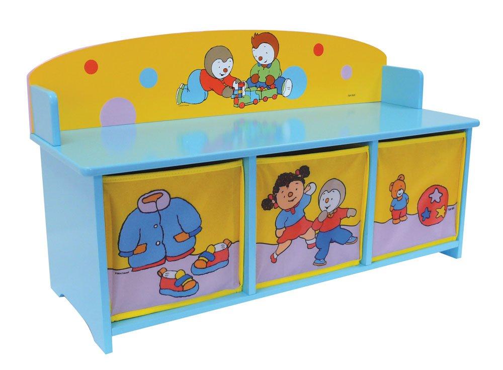 Cijep Fun House - 712 184 - Muebles y Decoración - Tchoupi - De Banco Con Storage Bins 712184
