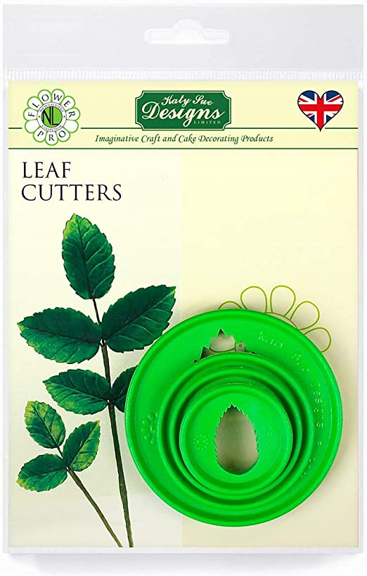 Leaf Petal Multi Purpose Cutter Set for Sugarcraft and Cake Decoration and Craft