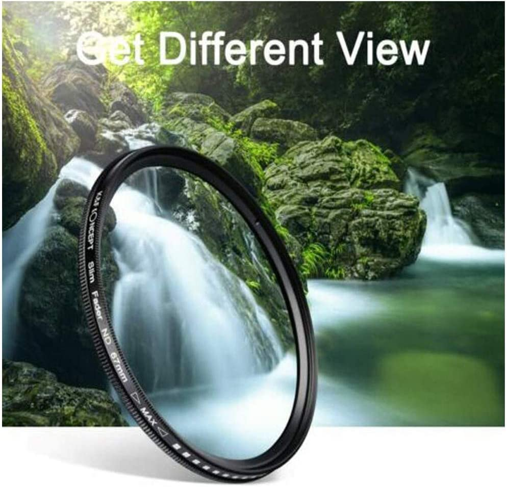 ND Filter for Camera Lenses Professional Photography Filter 55mm The New ND2-400 Neutral Density Fader Variable ND Filter