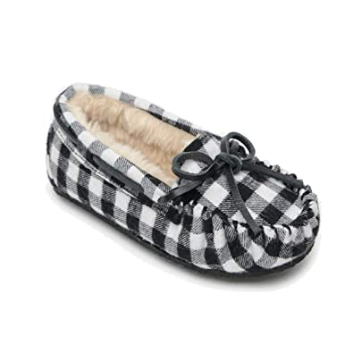 994edf08f478 Amazon.com: Minnetonka Cassie Slipper (Toddler/Little Kid/Big Kid ...
